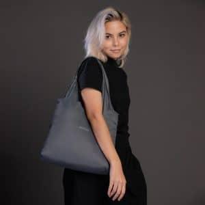 ถุงผ้าพับได้-Nano Bag-กระเป๋าลดโลกร้อน-ถุงผ้าshopping-geometric