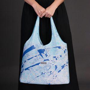 Nano Bag-ถุงลดโลกร้อน-ถุงผ้าshopping-สีice sheet